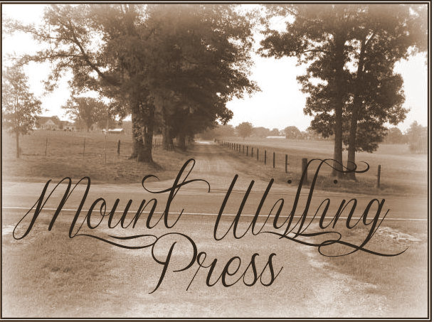 Follow Us on Mount Willing Press
